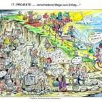 IT-Projekte: Verschiedene Wege zum Erfolg